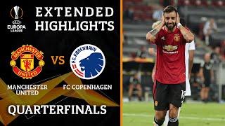 Manchester United vs. Copenhagen | Europa League Quarterfinals highlights | UCL on CBS Sports