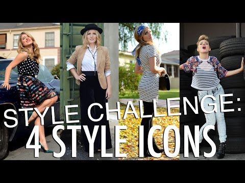 Style Challenge: 4 Style Icons