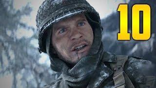 """Call of Duty WW2 PC Gameplay Walkthrough - Mission 10 """"AMBUSH"""" (Let"""