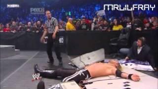 WWE Smackdown 2011 Edge Vs Kane Last Man Standing Match Part 2