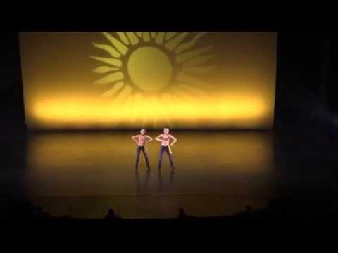 Walking On Sunshine - Mini Tap duet - Dance Sensation Inc