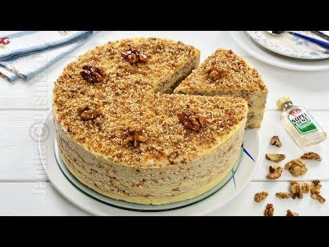Egyptian walnut cake (CC Eng Sub) | JamilaCuisine