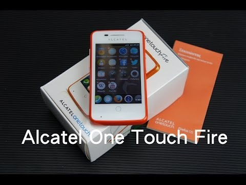 Alcatel One Touch Fire unboxing - FirefoxHellas.gr