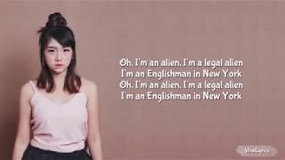 Ghea Indrawari Englishman in New York Lyrics Indonesian Idol 2018