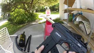 Dye Assault Matrix DAM CQB Setup Extended Mags Jungle Clips and short barrels