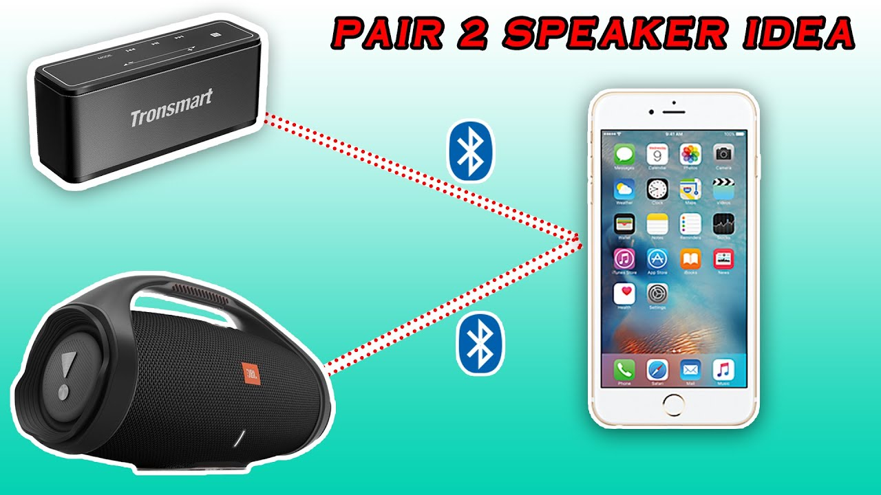How to use $5 Fake Airpods to connect 2 Bluetooth Speakers to 1 phone