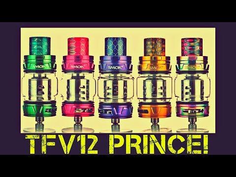 Vaping The SMOK TFV12 Prince Subohm Tank!
