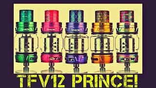 Vaping The SMOK TFV12 Prince Subohm Tank!