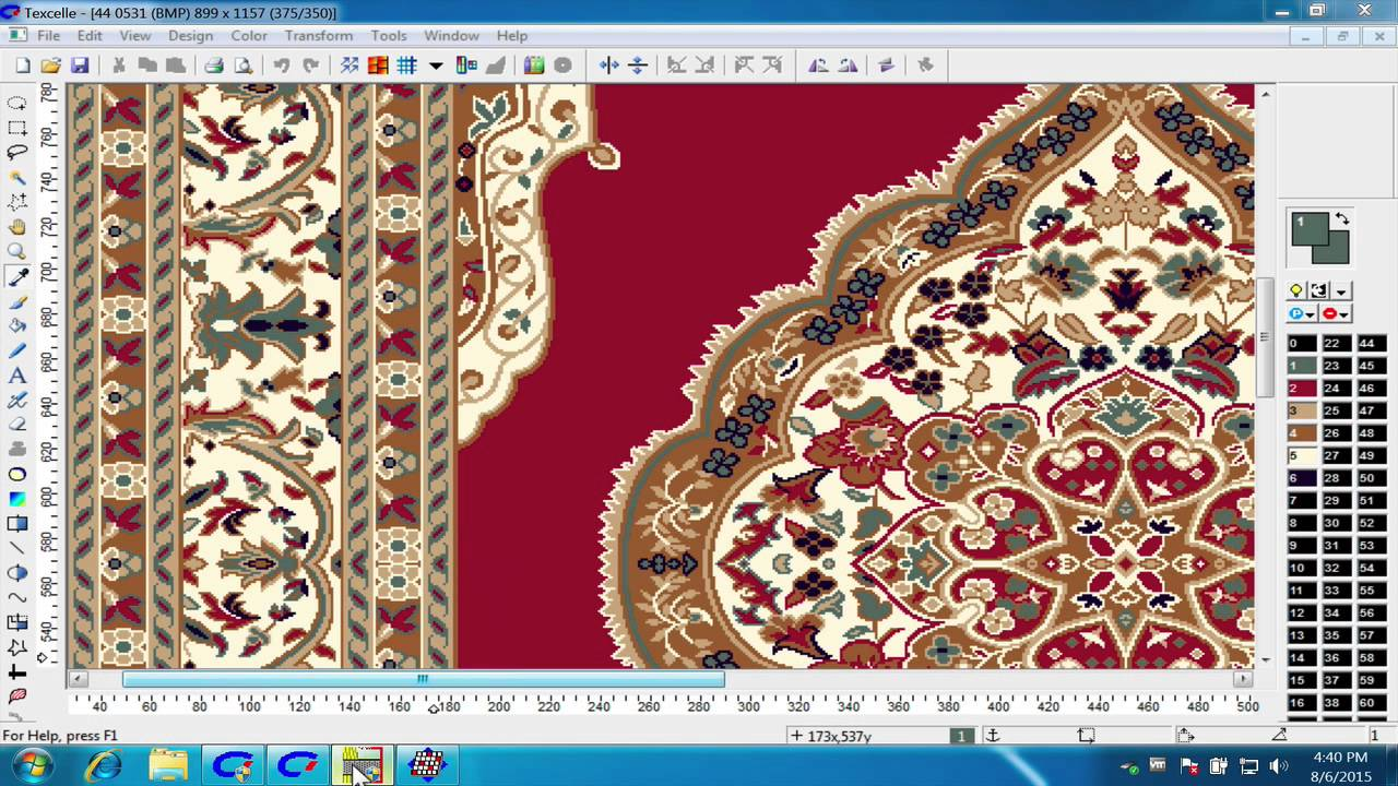 Nedgraphics Textile Jacquard Designing Hindi Youtube