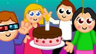 Happy birthday to you (with lyrics)