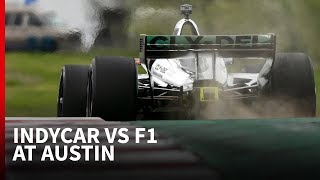 How IndyCar's Austin debut compared to F1