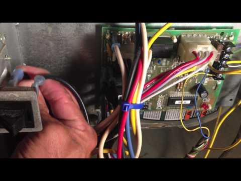 Solved trane hvac blower not working fried fan relay for Relay switch for blower motor