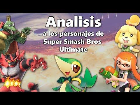 Analisis a los nuevos personajes de Super Smash Bros Ultimate + Ecos y Veteranos thumbnail