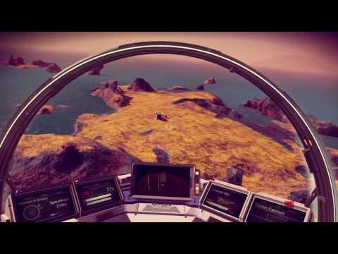 No Man's Sky - WATER WORLD exploration!