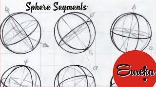 Drawing tutorial │Drawing sphere segments