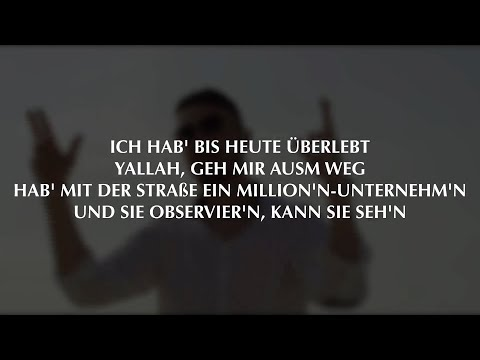 AZET - Überlebt (Official HQ Lyrics) prod. by Virginia Anton