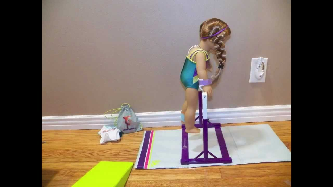 American Girl McKenna Bar Routine Stop Motion AGSM