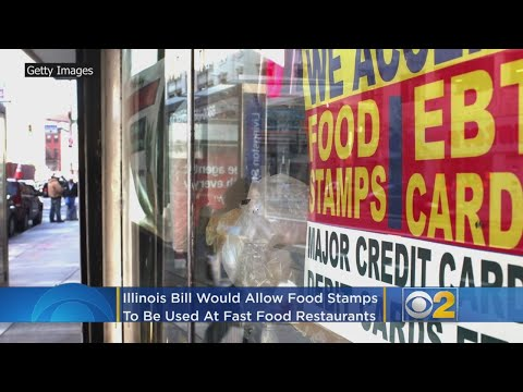 Food Stamps Could Be Redeemed At Fast Food Restaurants If Illinois Bill Passes