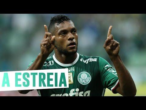 Bastidores da estreia de Borja no Palmeiras