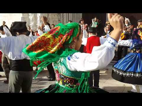 Traditional dance from Minho, Portugal