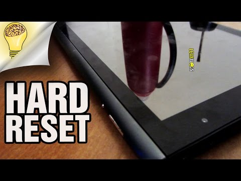 How to HARD RESET Acer Iconia A500 A501 Tablet
