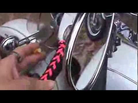 Motorcycle Grip Tassels For Bikers Video Youtube
