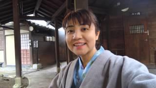 山崎まゆみ【熊本県 黒川温泉⑤ 湯上り】