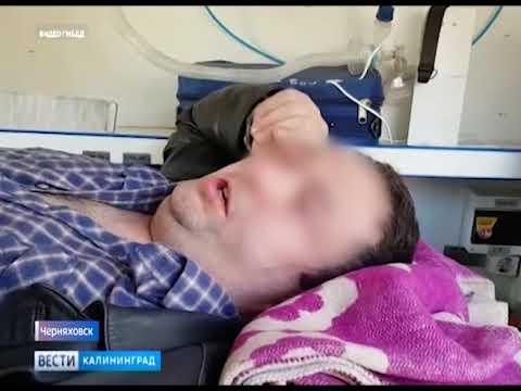 В Черняховске автоледи совершила наезд на 39-летнего мужчину
