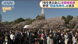 野党が税金の私物化と批判 「桜を見る会」を追及へ(19/11/12)