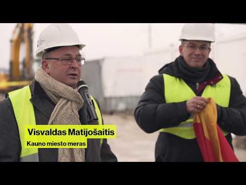 Pradėtos Kauno kogeneracinės jėgainės statybos