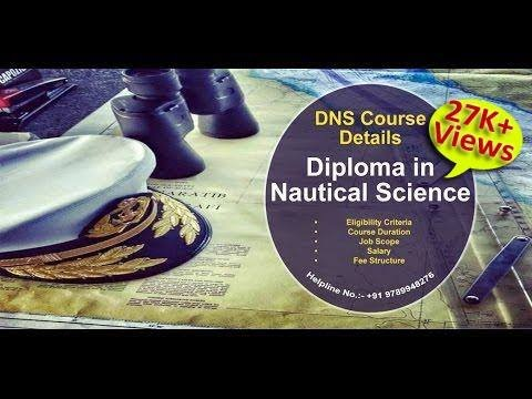 DNS (Diploma in Nautical Science) Course (Hindi Version) | Merchant Navy | After 12th