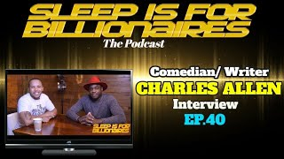 Comedian/TV Writer CHARLES ALLEN Interview w/ JONNI VEGAZ