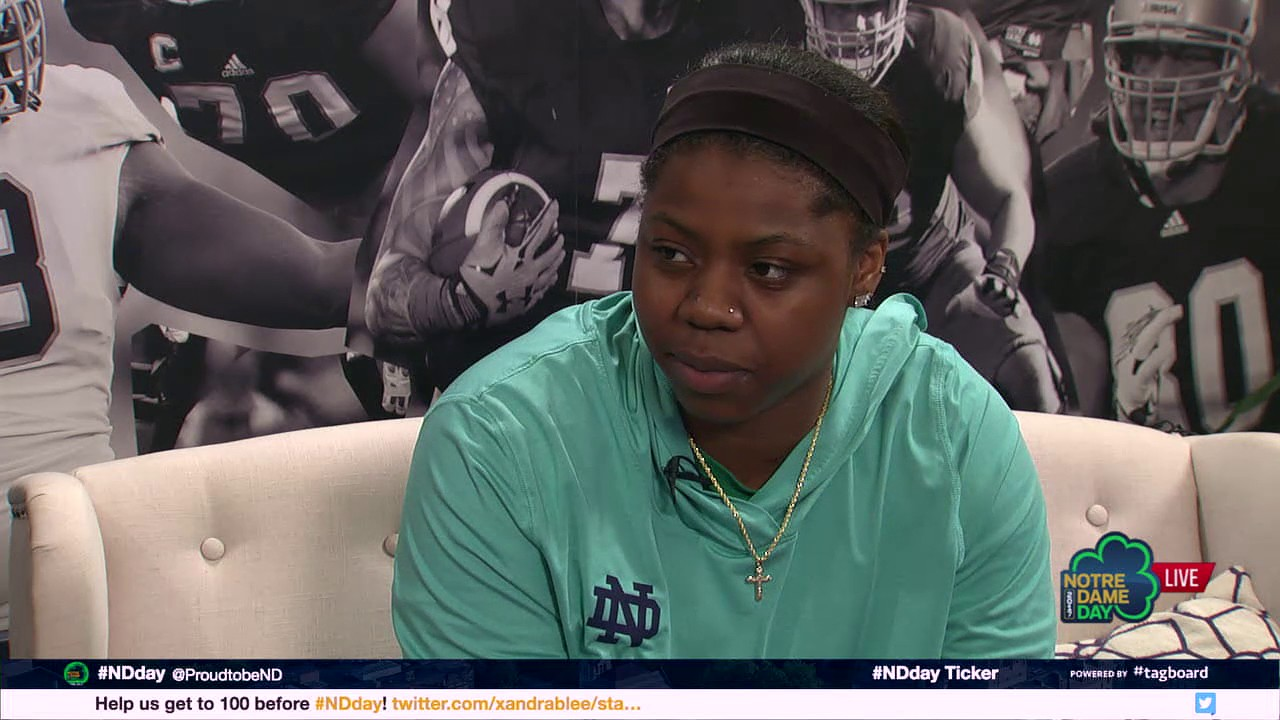 Interview with Arike Ogunbowale '19 - 2017 Notre Dame Day