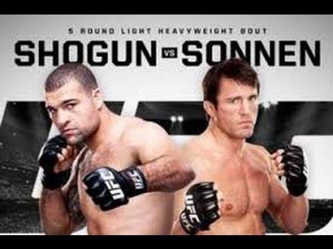 UFC Fight Night: Shogun vs Sonnen