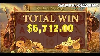 Big win in Wild Spartans Slots
