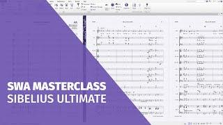 SWA Masterclass Sibelius Ultimate
