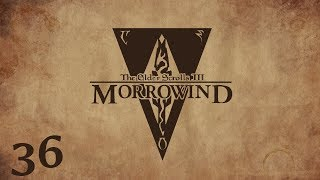 """Let's play The Elder Scrolls III: Morrowind cz36""""Książka i morderca"""""""
