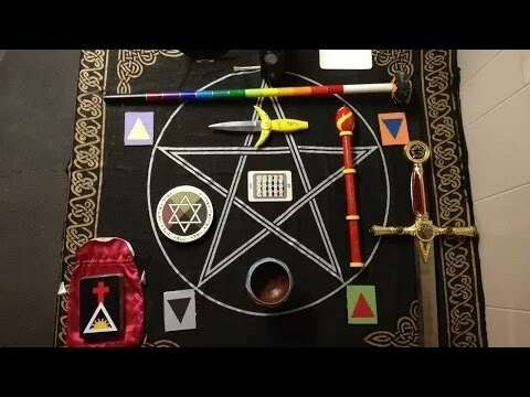 ⭐Golden Dawn Simplified Course in Magick (Summary)