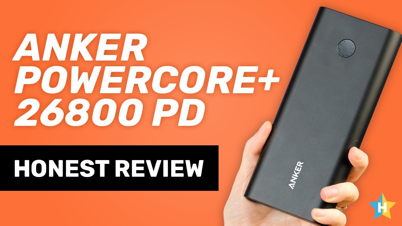 Anker Powercore+ 26800 PD USB Power Bank – Honest Review