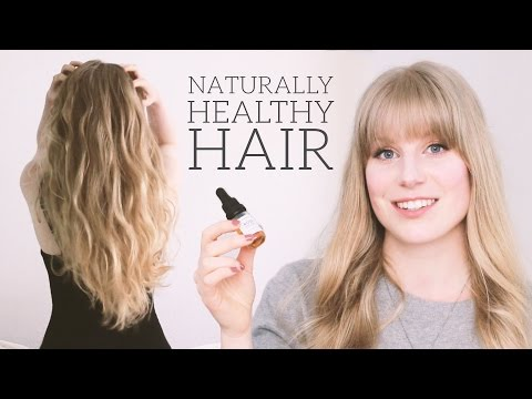 How To Get Shiny Hair & A Healthy Scalp | natural, organic products