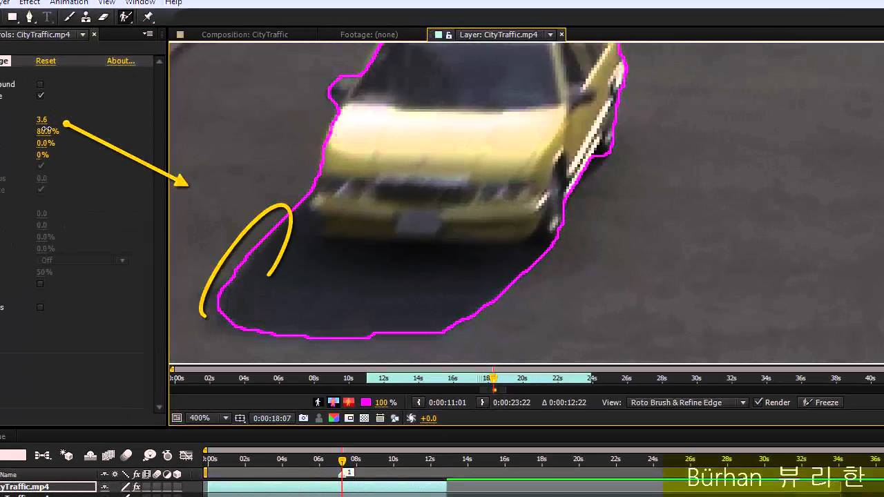 images How to Use the Roto Brush in Adobe AE