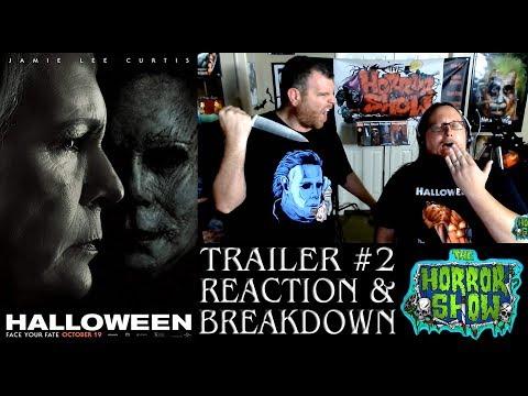 """""""Halloween"""" 2018 Reboot / Sequel Trailer #2 Reaction & Breakdown - The Horror Show"""