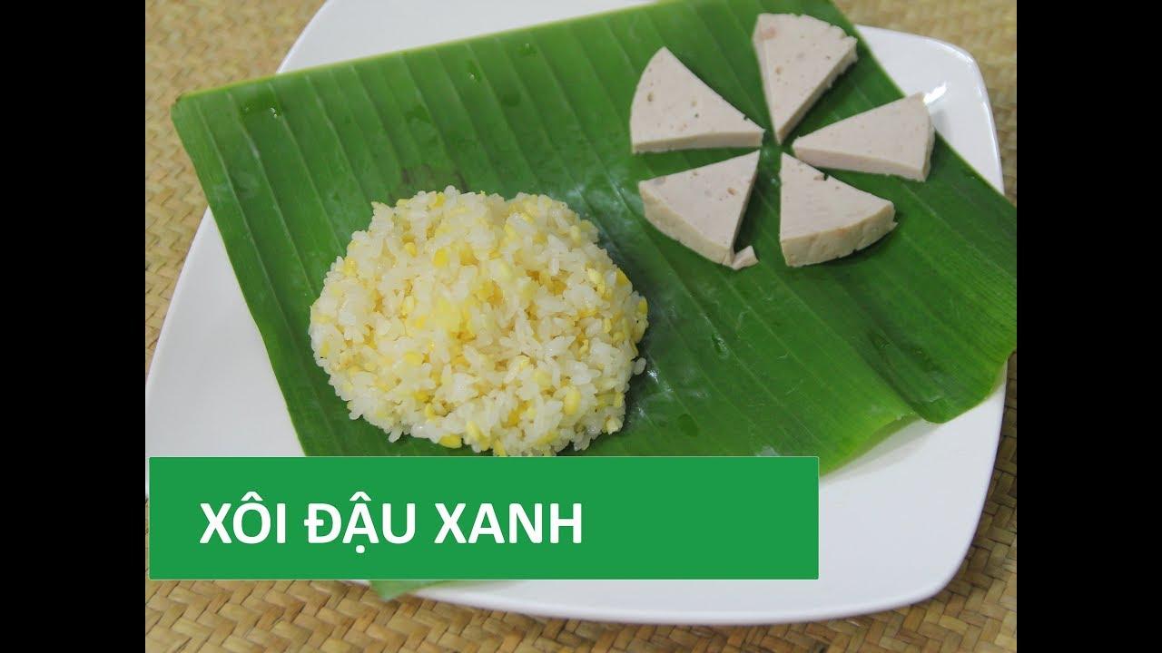Cách nấu XÔI ĐẬU XANH nước cốt dừa đơn giản   Món Việt   Tổng quát những thông tin liên quan cách nấu chè đậu trắng cúng thôi nôi chi tiết