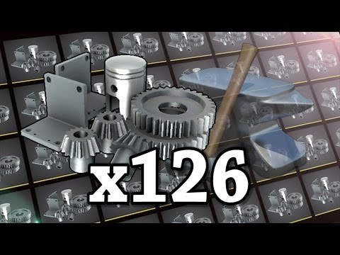 TF2: Crafting 126 Refined Metal into Hats! (ft. PyroJoe)