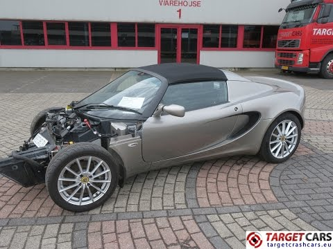 751022 751022 LOTUS ELISE T 1.6L 136HP 05-2010 19480MILES GREY RHD