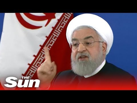 Iran's Rouhani promises 'MOTHER OF ALL WARS' with the West