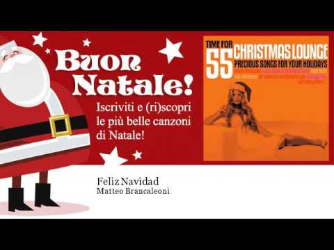 Matteo Brancaleoni Feliz Navidad Youtube