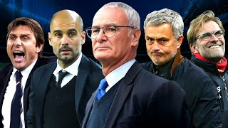 The most successful managers in European football, based on trophies won