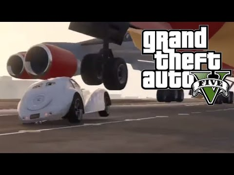 Best Plane Take Off Crashes (GTA 5) Episode 16