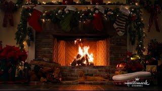 Hallmark Channel's  Holiday Yule Log